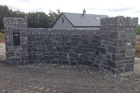 Limestone Wall