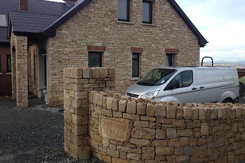 Sandstone Wall & Cladding